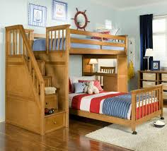 Solid Wood Bunk Bed Plans by Wooden Bunk Beds With Desk Diy Loft Bed Plans With A Desk Under