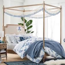 Pottery Barn Iron Bed Colette Canopy Bed Pbteen