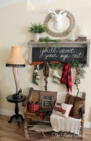the fancy shack christmas home tour 2015 christmas decorating