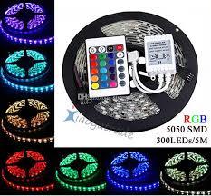 5050 smd 300 led strip light rgb dhl led strip light rgb 5m 5050 smd 300led waterproof ip65 24key