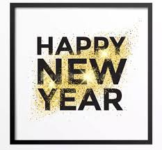 free greetings gold glitter happy new year 2018 greeting card free