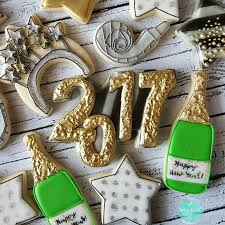 New Years Eve Decorated Cookies by The 57 Best Images About New Years Cookies On Pinterest Equation