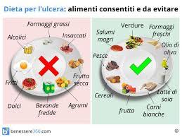 per ulcera gastrica cosa mangiare cibi da evitare ed alimenti