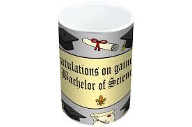 jayne graduation bsc limited edition designer mug and coaster gift set