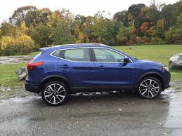nissan rogue sport 2017 blue on the road review nissan rogue sport sl the ellsworth
