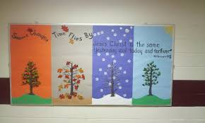 high christian bulletin board for anytime of the year i