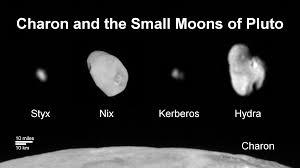 charon and the small moons of pluto nasa