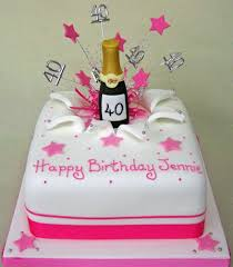 lady birthday cakes pink explosion cake birthday celebration