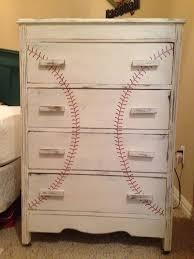 themed dresser best 25 baseball dresser ideas on boys baseball