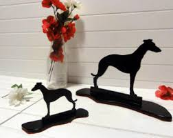greyhound statue etsy