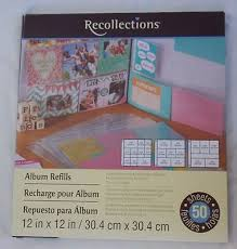 recollections photo album refills upc 886946313271 recollections 12x12 album refills set of 50