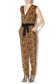 cheetah print jumpsuit zero cheetah print jumpsuit from california by mandyz