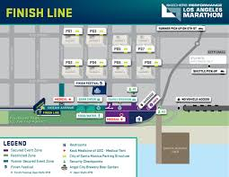 Los Angeles Street Cleaning Map by Map La Marathon The Route Streets To Avoid And More 89 3 Kpcc