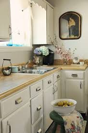Before And After White Kitchen Cabinets Kitchen Cabinets Painted Before And After Pretty Petals