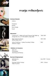 sle resume cover letter makeup artist resume objectives cool templates mac a templatesmakeup artist resume templates