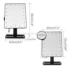 Tabletop Vanity Mirrors With Lights Tabletop Makeup Mirror With Lights Home Vanity Decoration