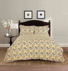 buy rajasthani bed sheets online yellow bed linen