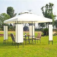 white gazebo white garden gazebo marquee metal tent patio canopy large