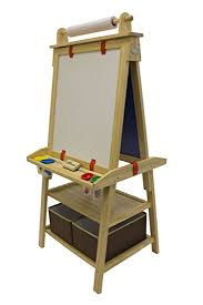 magnetic easel for toddlers amazon com little partners 2 sided a frame art easel with chalk