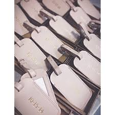 wedding favor luggage tags luggage tag wedding favors from travels favors travel tags