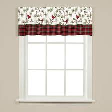 saturday knight winter birds 13 in l polyester valance in