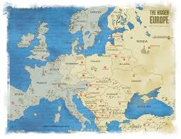 European Time Zone Map by Where Is Eastern Europe And What Countries Are In It The Hidden