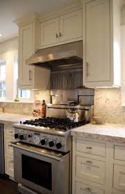 kitchen stove backsplash professional 30 stove stainless steel and granite backsplash