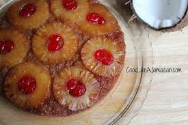 jamaican pineapple upside down cake cook like a jamaicancook
