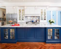 perfect blue kitchen white cabinets 23 to your home enhancing