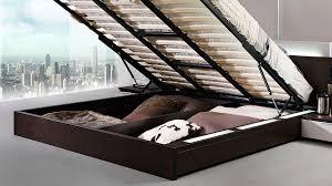 Modern Bedroom Platform Set King Modrest Gamma Modern Queen Bedroom Set With Storage And Mattress