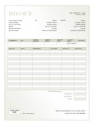 Rental Receipt Template Excel Rental Invoice Template Free Formats Excel Word