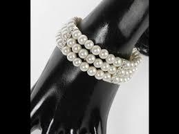 Wrist Corsage Bracelet Pearl Wrist Corsage Bracelet Youtube