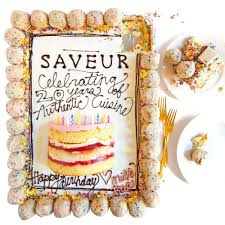 21 cakes for our 20th birthday saveur