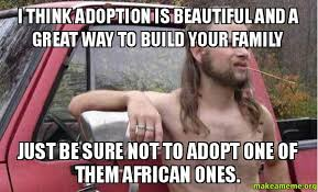 Adoption Meme - i think adoption is beautiful and a great way to build your family