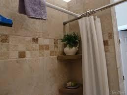 Shower Curtain Rod Round - bathroom shower curtain rods signature hardware 90 degree rod