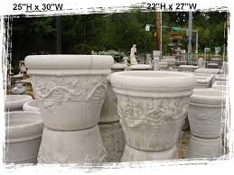 planting pots for sale concrete planters little baja garden deck and patio decor