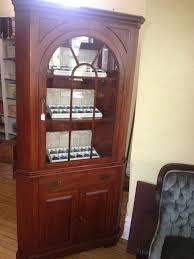 Mid Century Corner Cabinet Willett Wildwood Cherry Corner Cabinet Cherries Antique