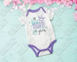 mardi gras onesie my mardi gras svg cut file set for baby onesies and shirts