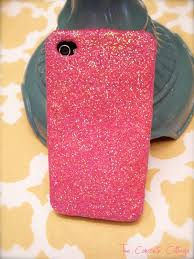 the concrete cottage glitter iphone case