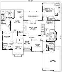 Monster House Plans Luxury Style House Plans 3584 Square Foot Home 1 Story 4