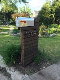 best 25 mailbox installation ideas on post rock faux