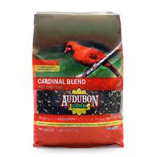 Cardinal Bird Home Decor by Audubon Park 5 Lb Cardinal Blend Wild Bird Food 12180 The Home