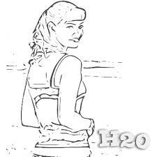 H2o Coloring Pages H2o Coloring Pages