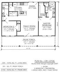 1 bedroom cottage floor plans best 25 2 bedroom house plans ideas on small house