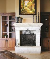 fireplace trends tumbled stone fireplace home decor color trends top with tumbled