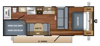 jay flight trailers floor plans 2018 jay flight slx travel trailer floorplans u0026 prices jayco inc