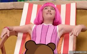 Lazy Town Meme - pedo bear in lazy town by lovemymeme meme center