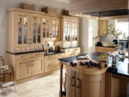 kitchen style cream ceramic floors pastel brown color under