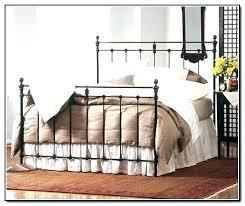 Metal Bed Frames Target Iron Bed Dkkirova Org