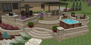 Patio Designs Images Custom 3d Patio Design Designing Patios You To Use